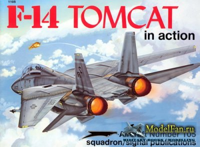 Squadron Signal (Aircraft In Action) 1105 - F-14 Tomcat