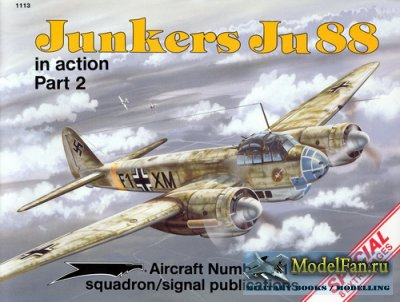 Squadron Signal (Aircraft In Action) 1113 - Junkers Ju 88. Part 2 (Special)
