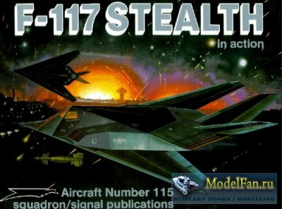 Squadron Signal (Aircraft In Action) 1115 - F-117 Stealth