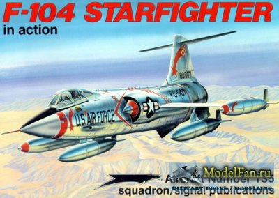 Squadron Signal (Aircraft In Action) 1135 - F-104 Starfighter