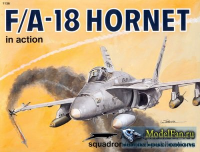 Squadron Signal (Aircraft In Action) 1136 - F/A-18 Hornet