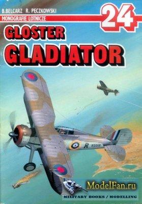 AJ-Press. Monografie Lotnicze 24 - Gloster Gladiator