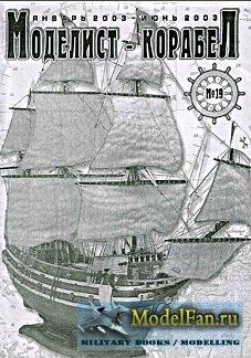 Моделист-Корабел № 19 - 2003