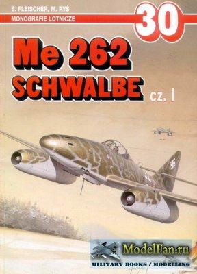AJ-Press. Monografie Lotnicze 30 - Me 262 Schwalbe (Part 1)