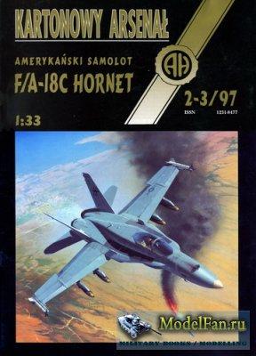 Halinski - Kartonowy Arsenal 2-3/1997 - F/A-18C Hornet