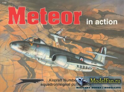 Squadron Signal (Aircraft In Action) 1152 - Meteor