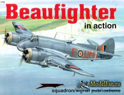 Squadron Signal (Aircraft In Action) 1153 - Beaufighter