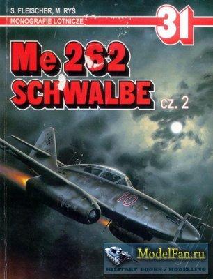 AJ-Press. Monografie Lotnicze 31 - Me 262 Schwalbe (Part 2)