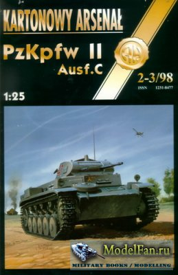 Halinski - Kartonowy Arsenal 2-3/1998 - PzKpfw II Ausf.C