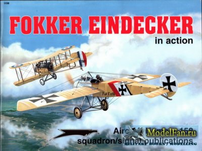 Squadron Signal (Aircraft In Action) 1158 - Fokker Eindecker