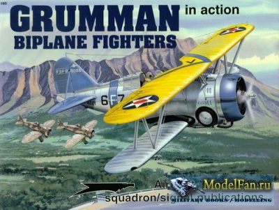Squadron Signal (Aircraft In Action) 1160 - Grumman Biplane Fighters