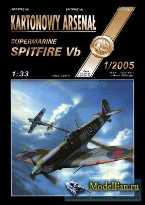 Halinski - Kartonowy Arsenal 1/2005 - Spitfire Vb