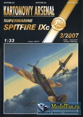 Halinski - Kartonowy Arsenal 3/2007 - Spitfire IXc