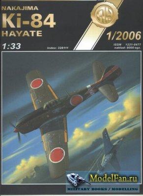 Halinski - Kartonowy Arsenal 1/2006 - Nakajima Ki-84 Hayate