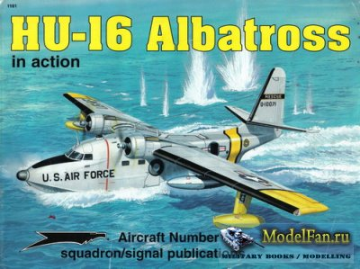 Squadron Signal (Aircraft In Action) 1161 - HU-16 Albatross