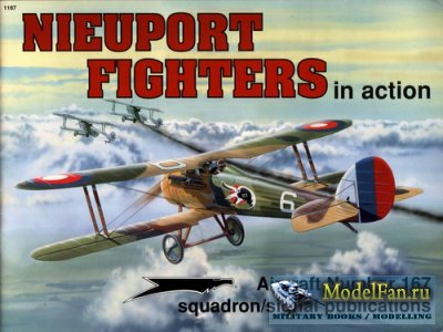 Squadron Signal (Aircraft In Action) 1167 - Nieuport Fighters