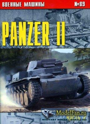 Военные машины №89 - Panzer II (Часть 2)