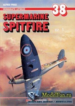 AJ-Press. Monografie Lotnicze 38 - Supermarine Spitfire (Cz.1)