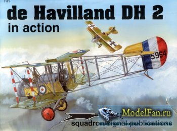 Squadron Signal (Aircraft In Action) 1171 - de Havilland DH 2