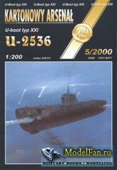 Halinski - Kartonowy Arsenal 5/2000 - U-Boat typ XXI U-2536
