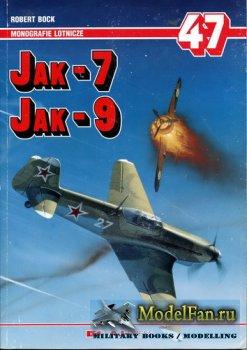 AJ-Press. Monografie Lotnicze 47 - Jak-7/Jak-9