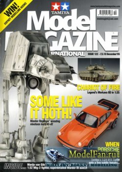 Tamiya Model Magazine International №122 (December 2005)