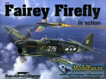 Squadron Signal (Aircraft In Action) 1200 - Fairey Firefly