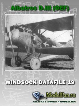 Windsock - Datafile 19 - Albatros D.III (OEF)