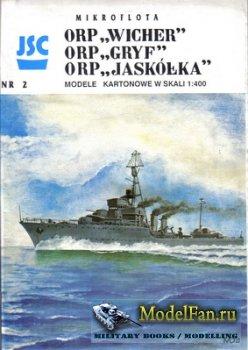 JSC 002 - Destroyer ORP Gryf & Wicher & Jaskolka
