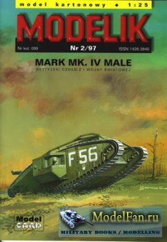 Modelik 2/1997 - Mark Mk.IV Male