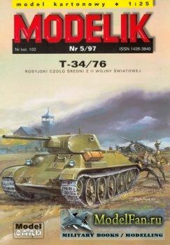 Modelik 5/1997 - T-34/76