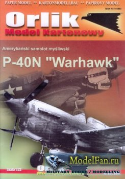 Orlik 008 - P-40N