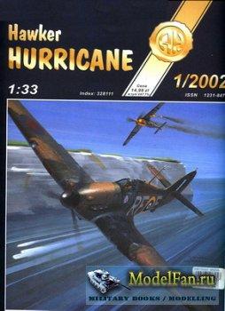 Halinski - Kartonowy Arsenal 1/2002 - Hawker Hurricane