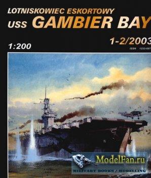 Halinski - Military Model 1-2/2003 - Lotniskowiec Eskortowy USS Gambier Bay