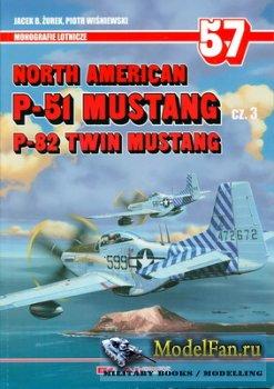 AJ-Press. Monografie Lotnicze 57 - North American P-51 Mustang Cz. 3