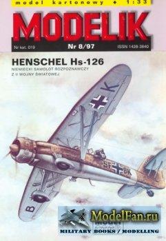 Modelik 8/1997 - Henschel Hs-126