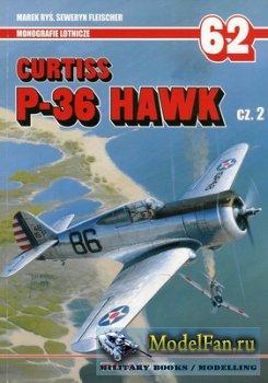 AJ-Press. Monografie Lotnicze 62 - Curtiss P-36 Hawk Cz. 2
