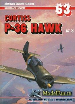 AJ-Press. Monografie Lotnicze 63 - Curtiss P-36 Hawk Cz. 3