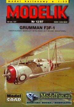 Modelik 12/1997 - Grumman F3F-1