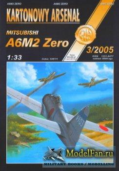 Halinski - Kartonowy Arsenal 3/2005 - Mitsubishi A6M2 Zero