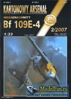 Halinski - Kartonowy Arsenal 2/2007 - Messerschmitt Bf 109E-4