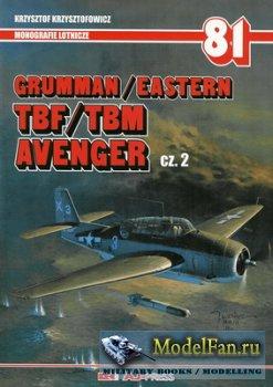 AJ-Press. Monografie Lotnicze 81 - Grumman/Easter, TBF/TBM, Avenger Cz. 2