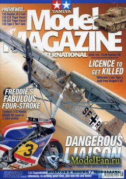 Tamiya Model Magazine International №148 (February 2008)