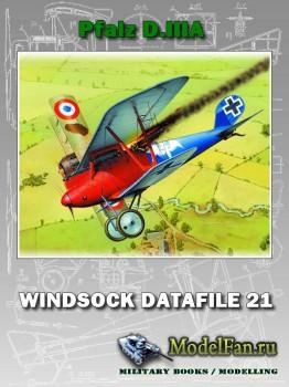 Windsock - Datafile 21 - Pfalz D.IIIA
