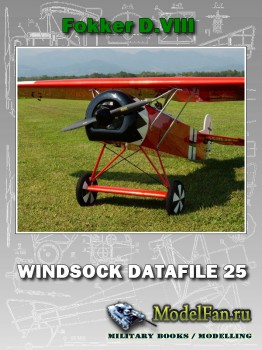 Windsock - Datafile 25 - Fokker D.VIII