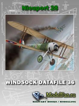 Windsock - Datafile 36 - Nieuport 28