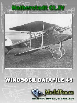 Windsock - Datafile 43 - Halberstadt CL.IV
