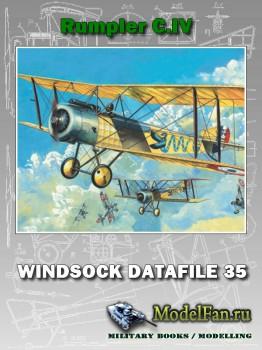 Windsock - Datafile 35 - Rumpler C.IV