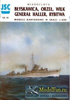 JSC 018 - Blyskawica, Orzel, Wilk General Haller, Rybitwa