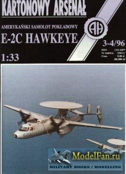 Halinski - Kartonowy Arsenal 3-4/1996 - E-2C Hawkeye